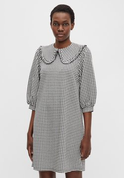 Object - ÜBERGROSSER KRAGEN - Sukienka letnia - black