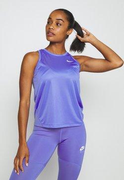 Nike Performance - MILER TANK - Sportshirt - sapphire/reflective silver