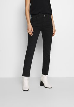 Dorothy Perkins - BOYFRIEND JEAN - Slim fit jeans - black