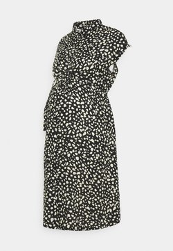 JoJo Maman Bébé - PEBBLE DRESS - Vestido camisero - black