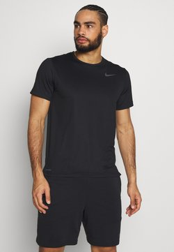 Nike Performance - DRY - T-shirt - bas - black/white
