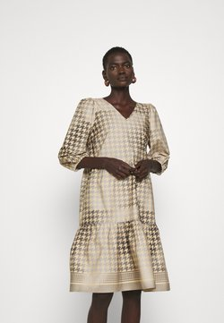 CECILIE copenhagen - RUBY SHORT DRESS - Freizeitkleid - frost grey