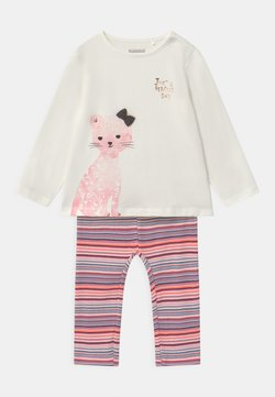 Staccato - SET - Legging - white/light pink
