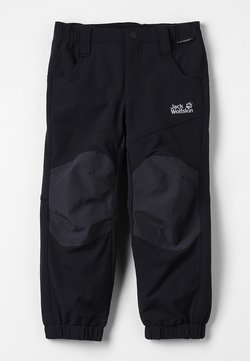 Jack Wolfskin - RASCAL WINTER PANTS KIDS - Kangashousut - black
