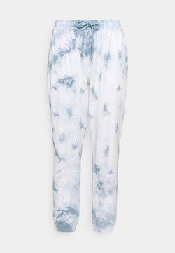 Noisy May Curve - NMILMA PANTS - Jogginghose - blue fog/tie dye sugar swizzle