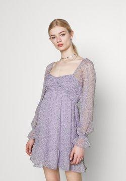 Hollister Co. - SHORT DRESS - Freizeitkleid - lavender