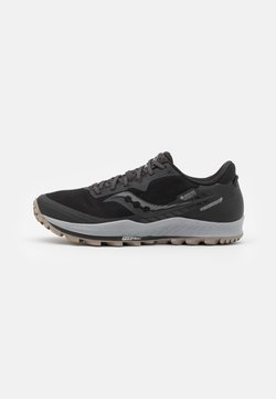 Saucony - PEREGRINE 11 GTX - Zapatillas de trail running - black/gravel