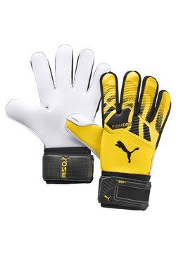 Puma - Torwarthandschuh - ultra yellow-black-white