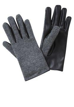 Cartoon - Fingerhandschuh - grau/schwarz