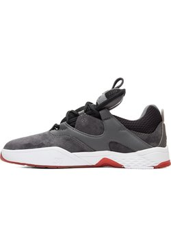 DC Shoes - Chaussures de skate - GREY/BLACK/RED
