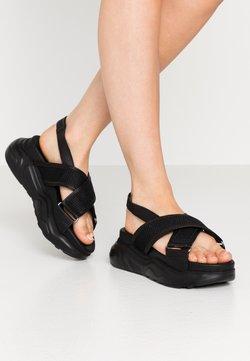 Selected Femme - SLFOLLIE  - Korkeakorkoiset sandaalit - black