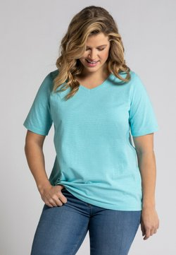 Ulla Popken - T-Shirt print - tiefes aqua