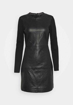 ONLY - ONLLENA DRESS - Freizeitkleid - black