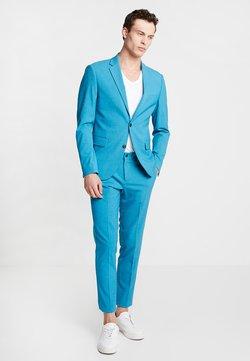Lindbergh - PLAIN MENS SUIT - Anzug - turquoise melange