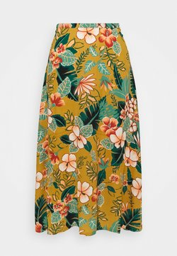 King Louie - JUNO SKIRT LILO - A-Linien-Rock - gold yellow
