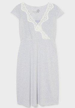 C&A - STILL - Nachthemd - white / grey