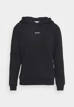 Björn Borg - MILLA HOOD - Sweater - black beauty