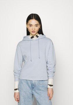 Pieces - PCCHILLI LS HOODIE - Sweater - kentucky blue