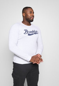 Jack´s Sportswear - CITY PRINT - Sweatshirt - white mel