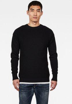 G-Star - FISHER ROUND NECK - Pullover - black