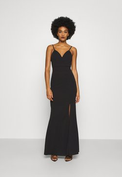 WAL G. - ANNALISE HIGH SPLIT MAXI DRESS - Gallakjole - black