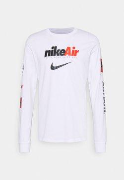 Nike Sportswear - TEE BY AIR - Langarmshirt - white