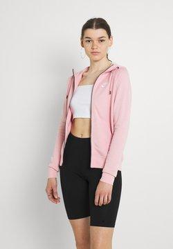 Nike Sportswear - HOODIE - Felpa con zip - pink glaze/white