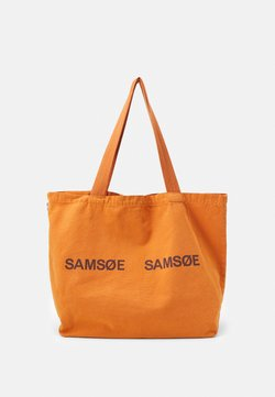 Samsøe Samsøe - FRINKA SHOPPER - Shoppingväska - golden ochre