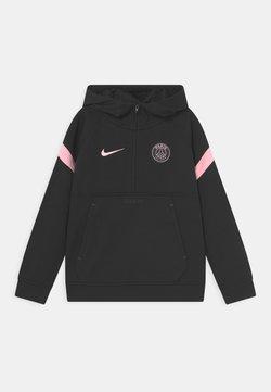 Nike Performance - PARIS ST. GERMAIN TRAVEL HOODIE UNISEX - Pelipaita - black/arctic punch