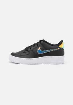 Nike Sportswear - AIR FORCE 1 UNISEX - Sneaker low - black/multicolor/white