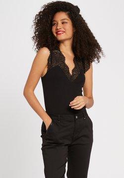 Morgan - DENA - T-Shirt basic - black