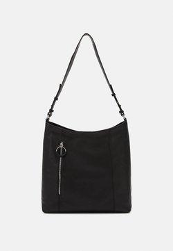 Zign - LEATHER - Bolso de mano - black