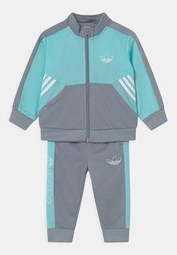 adidas Originals - SET UNISEX - Chándal - turquoise/grey