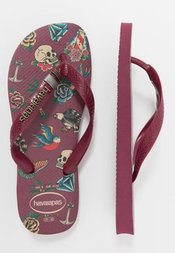 Havaianas - TOP TRIBO - Teenslippers - bordeaux