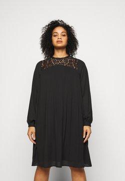 Vero Moda Curve - VMKENYA DRESS - Freizeitkleid - black