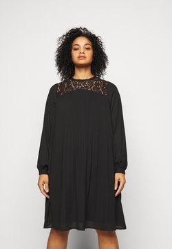 Vero Moda Curve - VMKENYA DRESS - Sukienka letnia - black