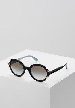 Prada - Lunettes de soleil - top black/azure/spotted brown