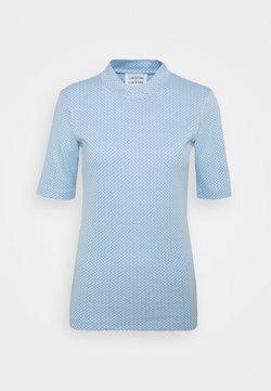 Libertine-Libertine - ATTACK - T-Shirt print - sky blue grid