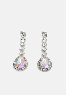 Pieces - PCSAHRA EARRINGS - Earrings - silver-coloured