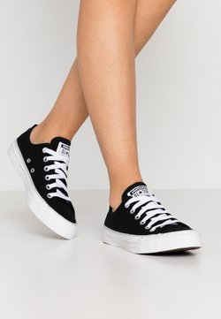 Converse - CHUCK TAYLOR ALL STAR - Sneakers laag - black/white/green oxide