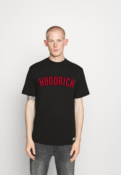 Hoodrich - DRIP - T-shirt print - black/red