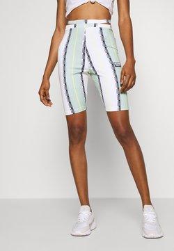 adidas Originals - CYCLING TIGHTS - Shorts - white/green tint