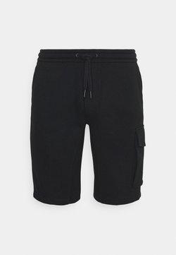 Calvin Klein Jeans - MONOGRAM PATCH - Shorts - black