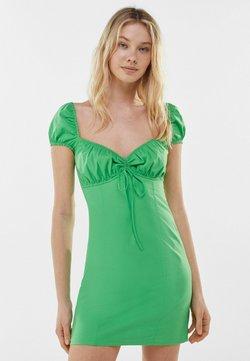 Bershka - Vapaa-ajan mekko - green