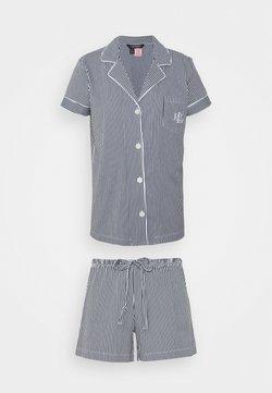 Lauren Ralph Lauren - CORE - Pyjama - dark blue/white