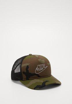 Nike Sportswear - CAMO TRUCKER - Lippalakki - medium olive
