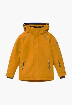 TrollKids - KIDS HOLMENKOLLEN SNOW JACKET PRO - Kurtka snowboardowa - golden yellow/mystic blue