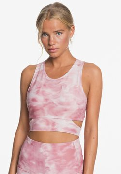 Roxy - WHERE TO START  - Sport BH - silver pink imagine