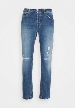 Dondup - PANTALONE BRIGHTON - Jeans Tapered Fit - blue denim