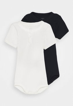 Petit Bateau - TUNISIEN 2 PACK - Body - white/dark blue